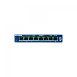 Switch NetGear Gigabit GS108GE, 8xport