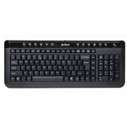 Tastatura A4Tech X-Slim KL-40, USB, Black