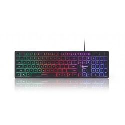 Tastatura Gembird KB-UML-01, RGB LED, USB, Black