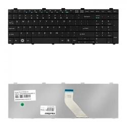 Tastatura Notebook Qoltec 50610 pentru Fujitsu A530, A531, AH530, AH531, Black