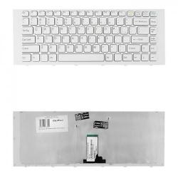 Tastatura Notebook Qoltec pentru Sony VPC-EG, White