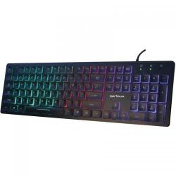 Tastatura Serioux 9500I, RGB, USB, Black
