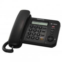 Telefon analogic Panasonic KX-TS580FXB, culoare neagra