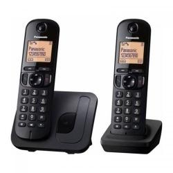 Telefon Fix Panasonic Dect KX-TGB212FXB, 2 receptoare, black