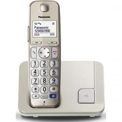 Telefon Fix Panasonic DECT KX-TGE210FXN, silver