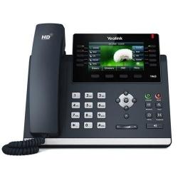 Telefon IP Yealink SIP-T46S, Black