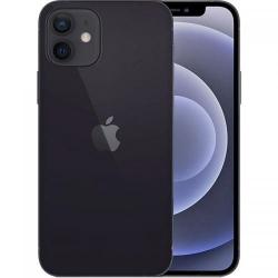 Telefon Mobil Apple iPhone 12, Dual SIM, 64GB, 4GB RAM, 5G, Black