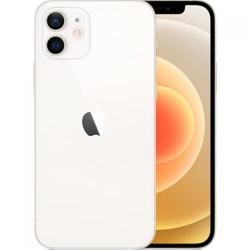 Telefon Mobil Apple iPhone 12, Dual SIM, 64GB, 4GB RAM, 5G, White