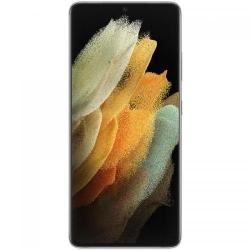 Telefon Mobil Samsung Galaxy S21 Ultra Dual SIM, 128GB, 12GB RAM, 5G, Phantom Silver