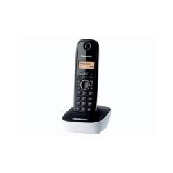 Telefon Panasonic DECT, 50 memorii, CID, negru-alb