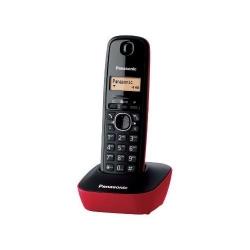 Telefon Panasonic DECT cu CallerID, culoare rosu