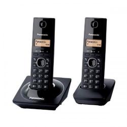 Telefon Panasonic DECT Twin, 50 memorii, negru