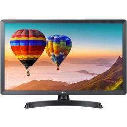 Televizor LED LG Smart 28TN515S-PZ, Seria TN515S-PZ, 27.5inch, HD Ready, Black-Grey