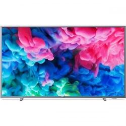 Televizor LED Philips Smart 50PUS6523 Seria PUS6523, 50inch, Ultra HD 4K, Grey
