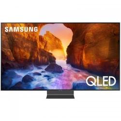 Televizor LED Samsung Smart TV QLED 55Q90RA Seria Q90R, 55inch, Ultra HD 4K, Silver