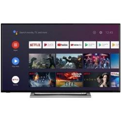 Televizor LED Toshiba Smart Andoird 49UA3A63DG, Seria UA3A63DG, 49inch, UltraHD 4K, Black