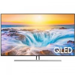 Televizor QLED Samsung Smart 75Q85RA Seria Q85R, 75inch, Ultra HD 4K, Silver