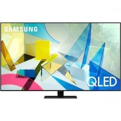 Televizor QLED Samsung Smart QE55Q80TATXXH Seria 55Q80T, 55inch, Ultra HD 4K, Carbon Silver