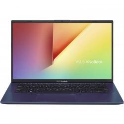 Ultrabook ASUS VivoBook 14 X412FA-EK565, Intel Core i3-8145U, 14inch, RAM 4GB, SSD 256GB, Intel UHD Graphics 620, Blue