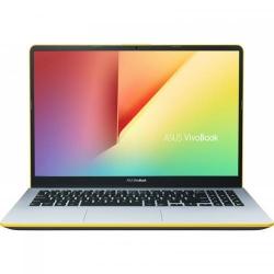 Ultrabook ASUS VivoBook S15 S530FA-BQ005, Intel Core i5-8265U, 15.6inch, RAM 8GB, SSD 256GB, Intel UHD Graphics 620, Endless OS, Silver Blue with Yellow Trim