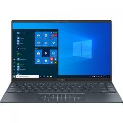 Ultrabook ASUS ZenBook 14 UM425QA-KI009T, AMD Ryzen 5 5600H, 14inch, RAM 8GB, SSD 512GB, AMD Radeon Graphics, Windows 10, Pine Grey