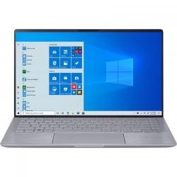 Ultrabook ASUS ZenBook 14 UM433IQ-A5024, AMD Ryzen 5 4500U, 14inch, RAM 8GB, SSD 512GB, nVidia GeForce MX350 2GB, No OS, Light Grey