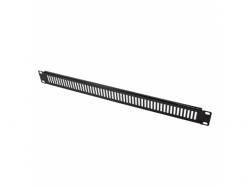 Ventilated Blank Panel Logilink, 19inch, 1U, Black