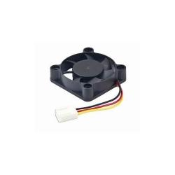 Ventilator Gembird 40x40x10mm DC fan sleeve bearing, 3-pin 12V