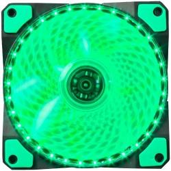 Ventilator Marvo FN-11 green LED, 120mm