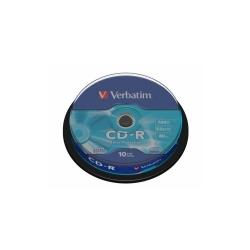 VERBATIM CD-R 52X 700MB pachet 10buc.  EXPROT