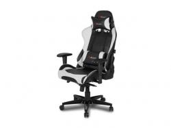 Scaun gaming Arozzi Verona XL Plus, Black-White