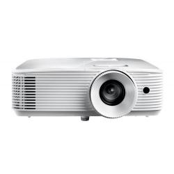 Videoproiector Optoma HD27e, White + Ecran de proiectie Optoma DS-9092PWC, 92inch