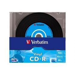 Vinyl CD-R Verbatim DATALIFE PLUS 52X, 700MB, 10 buc