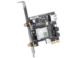 Placa de retea wireless Gigabyte WBAX200, PCI Express x1