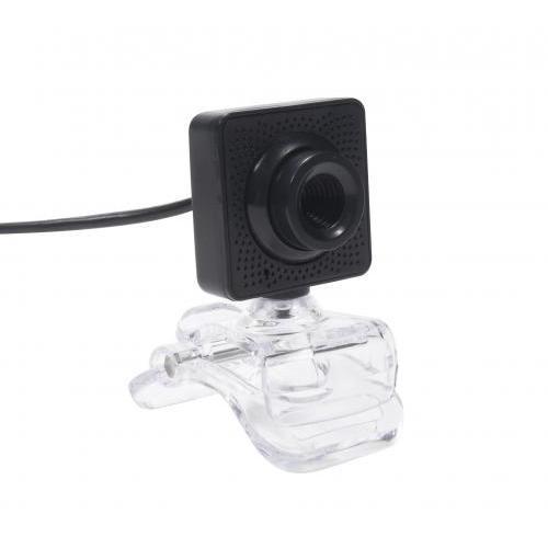 Camera web Well 480p, cu microfon, WEBCAM-401BK-WL