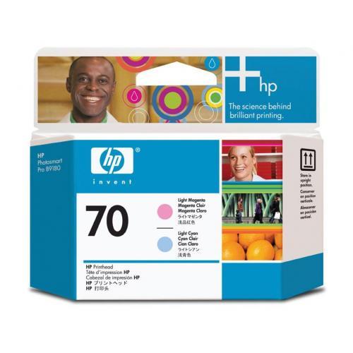 Cap printare HP 70 Light Cyan and Light Magenta - C9405A