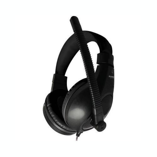 Casti cu microfon Somic SH-100, Black