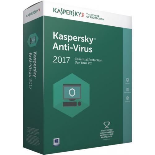 Kaspersky Anti-Virus European Edition, 3-Desktop / 1 year, Base License Pack