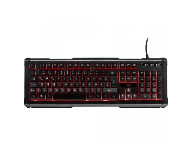 Kit Inter-Tech Eterno PG-5545 - Tastatura, RGB, USB, Black + Mouse Optic, USB, Black