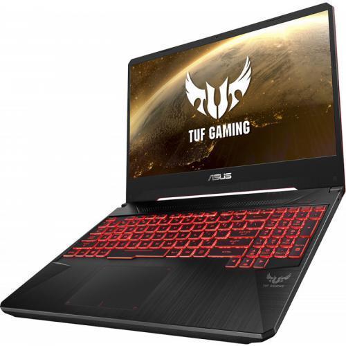 Laptop ASUS TUF FX505DT-BQ051, AMD Ryzen 5 3550H, 15.6inch, RAM 8GB, SSD 512GB, nVidia GeForce GTX 1650 4GB, No OS, Stealth Black