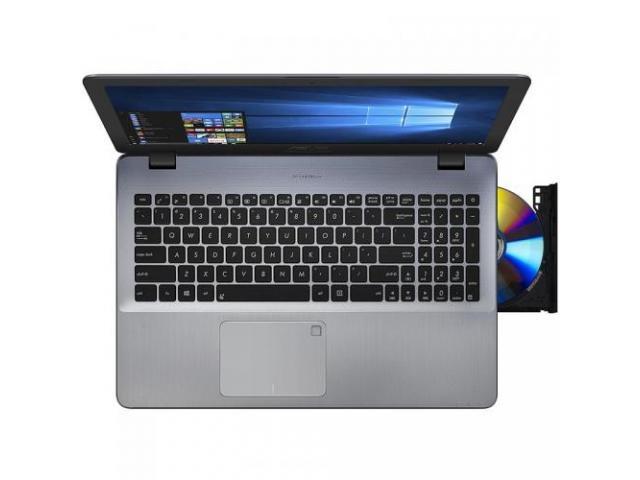 Laptop ASUS VivoBook 15 X542UR-DM006, Intel Core i7-7500U, 15.6inch, RAM 8GB, HDD 1TB, nVidia GeForce 930MX 2GB, No OS, Dark Grey