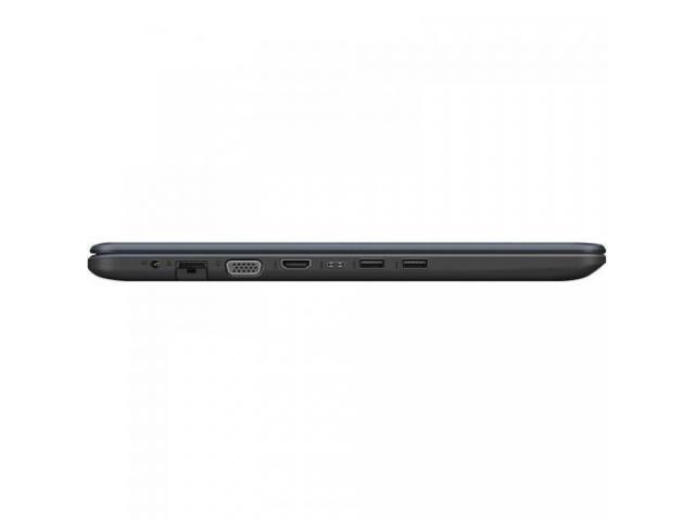 Laptop ASUS VivoBook 15 X542UR-DM055, Intel Core i5-7200U, 15.6inch, RAM 4GB, HDD 1TB, nVidia GeForce 930MX 2GB, No OS, Dark Grey