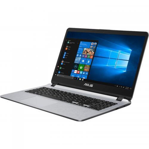 Laptop ASUS X507UA-EJ1096, Intel Core i3-8130U, 15.6inch, RAM 4GB, SSD 256GB, Intel UHD Graphics 620, Endless OS, Star Grey