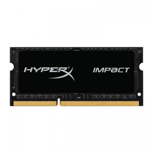 Memorie SODIMM Kingston HyperX Impact 8GB, DDR4-2666MHz, CL15