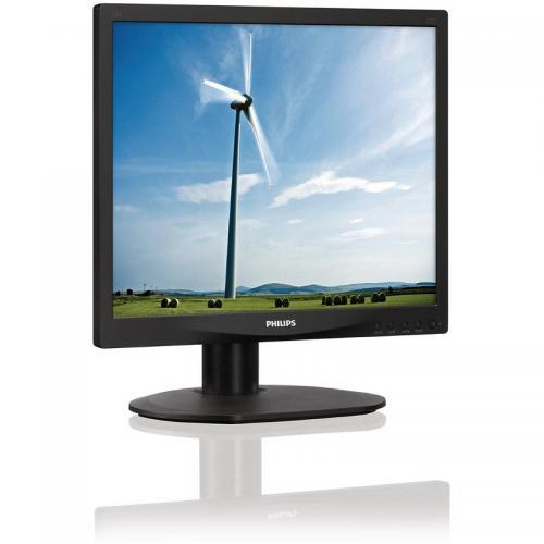 Monitor LED Philips 17S4LSB, 17inch, 1280x1024, 5ms, Black