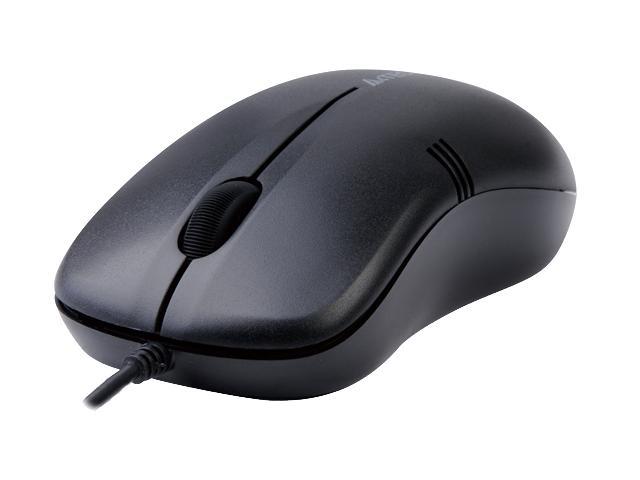 Mouse V-Track A4Tech OP-560NU-1, USB, Black