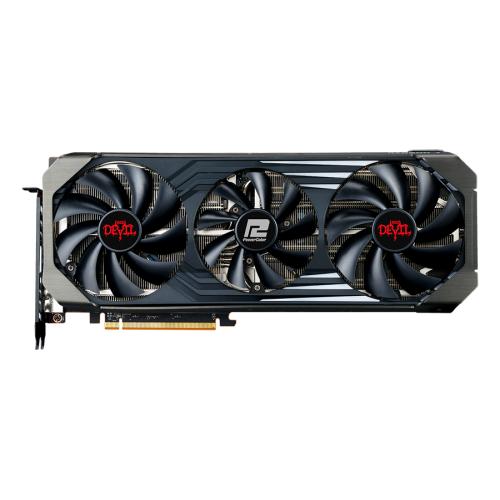Placa Video POWERCOLOR Radeon RX 6700 XT OC Red Devil 12GB GDDR6 192-bit, RX6700XT 12G-3DHEO