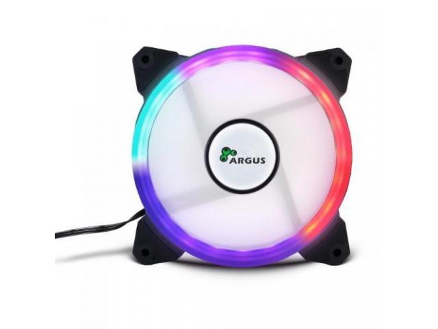 Ventilator Inter-Tech Argus RS01 LED RGB, 120mm